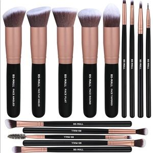 Make up brushes set nwt